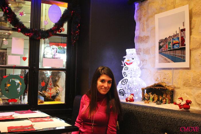 diana dazzling, fashion blogger, fashion blog,  cmgvb, como me gusta vivir bien, dazzling, luxury, Christmas, Paris, navidad, Noel, creperie Montmartre
