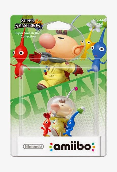 JUGUETES - NINTENDO Amiibo  44 : Figura Olimar : Pikmin   (Julio 2015)   Videojuegos   Muñeco   Super Smash Bros Collection  Plataforma: Wii U & Nintendo 3DS