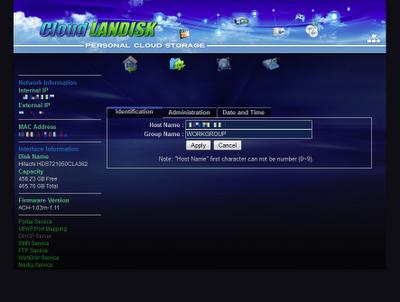 My Akitio Web Portal