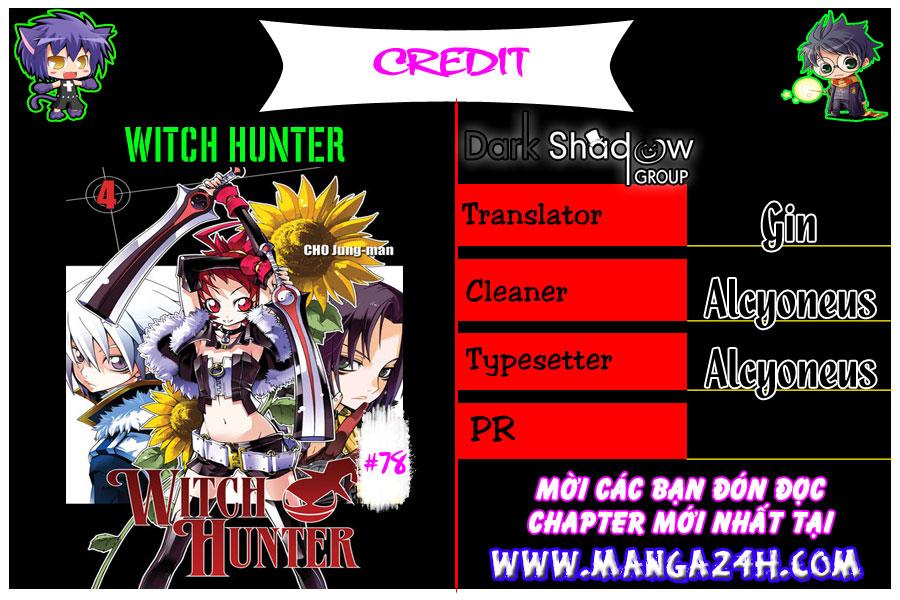 Witch Hunter – Thợ Săn Phù Thủy chap 78 Trang 1 - Mangak.info