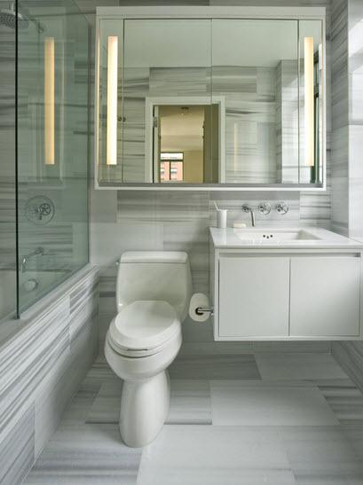 Inodoro Para Baño Pequeno:el lavabo y el inodoro, permiten guardar gran cantidad de elementos de