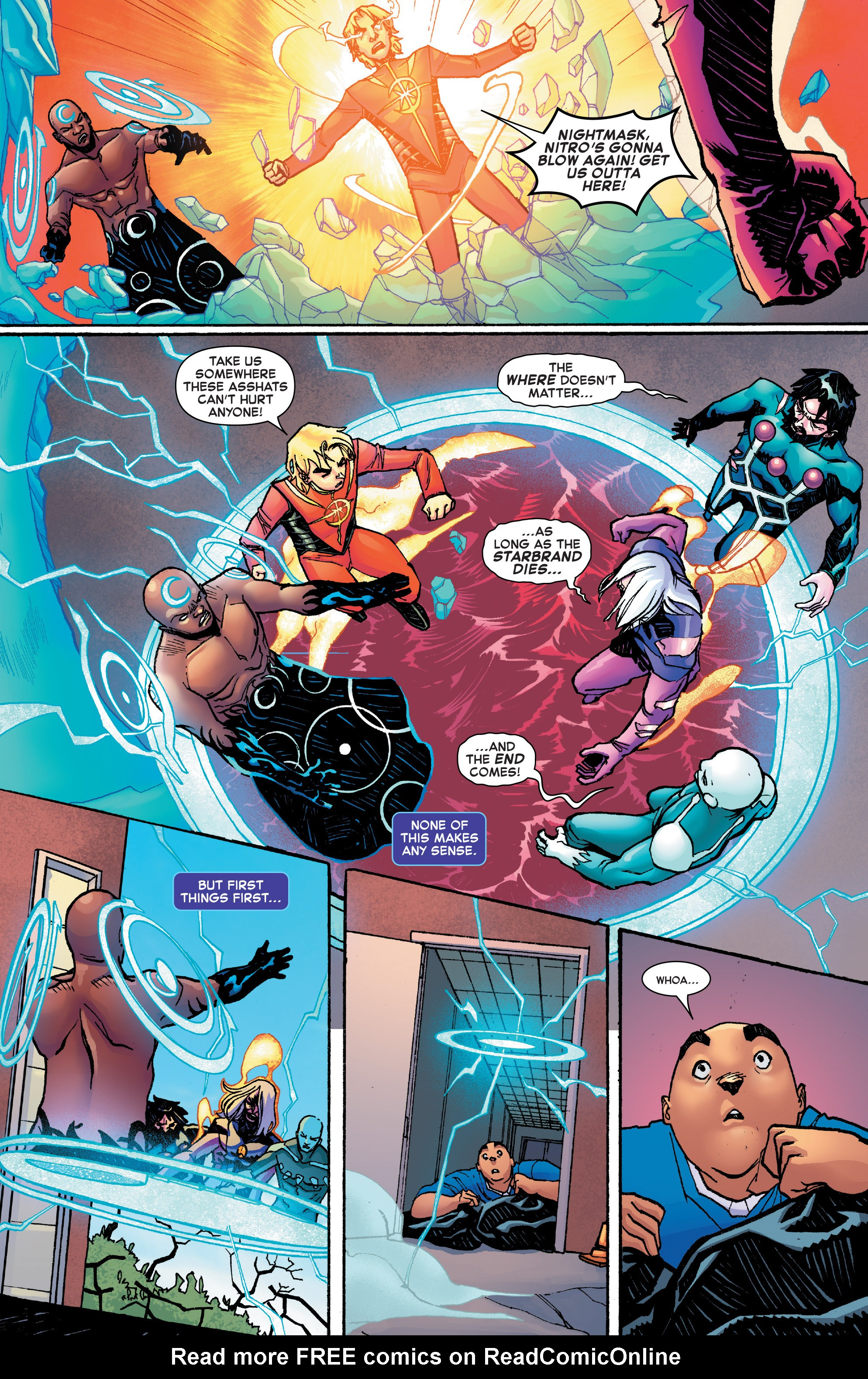 Read online Starbrand & Nightmask comic -  Issue #2 - 8