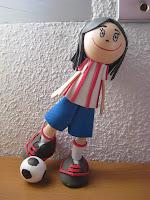 Fofucha, regalo, futbolista, falcao, atletico_madrid, artesania, manualidades