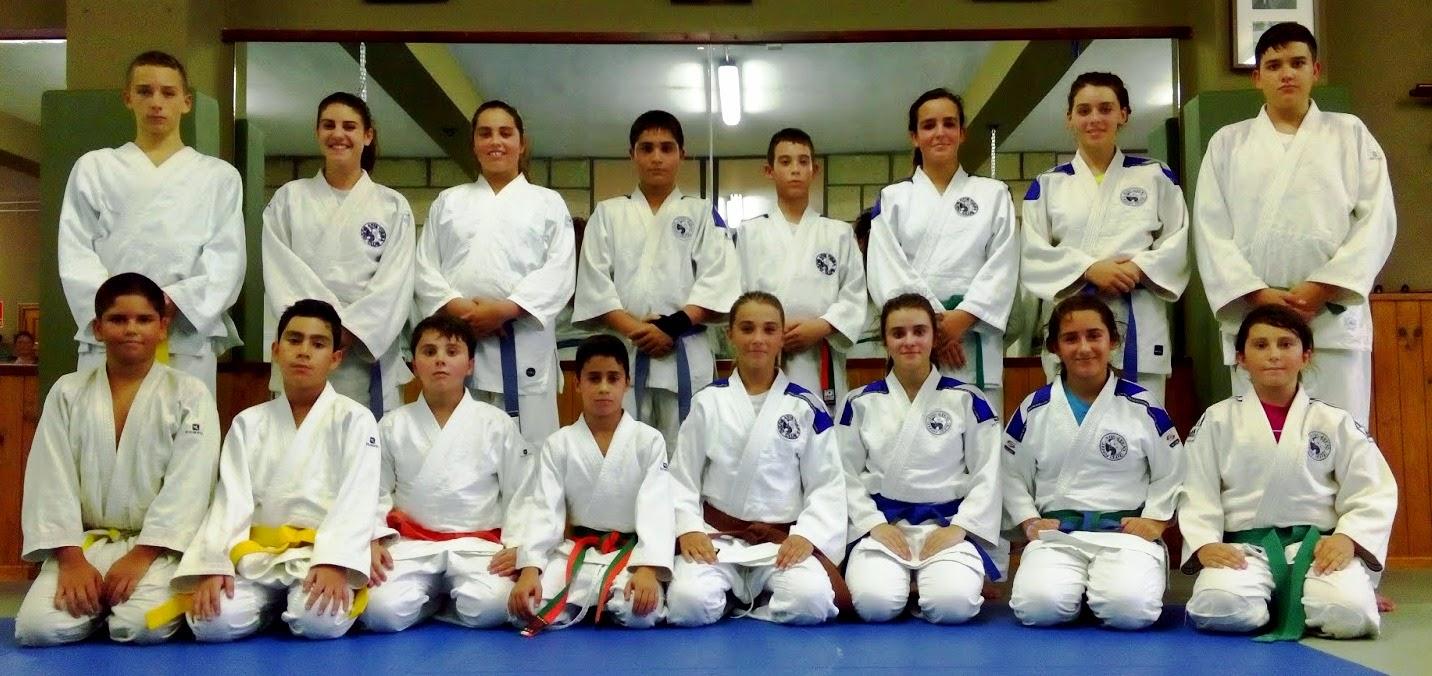 2º CLASE DE JUDO INFANTIL 2014/15