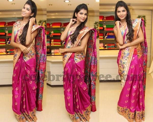 Isha Agarwal Pythani Silk Saree