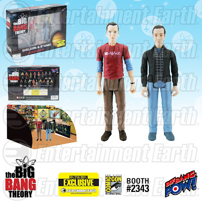 "San Diego Comic-Con 2015 Exclusive The Big Bang Theory ""Comic Book Store"" Sheldon Cooper & Stuart Bloom Action Figure Box Set by Bif Bang Pow!"