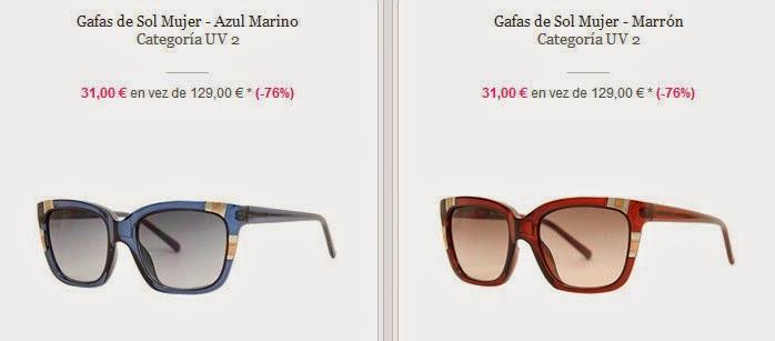 Dos modelos de gafas de sol Guess en oferta