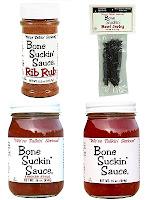 Bone Suckin' BBQ gift set