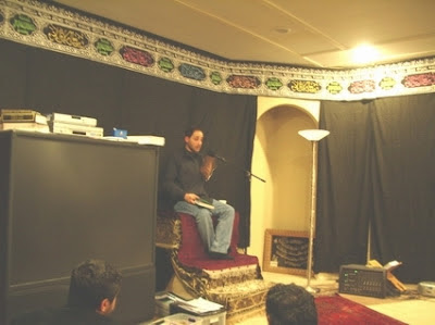 Rafic Labboun preaching at Fatimiyya Islamic Center of Hayward, CA.
