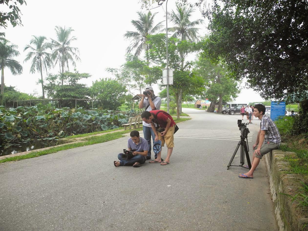 Học quay phim, học quay phim thực tế tại Regedu