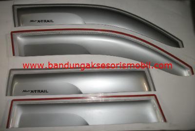 Talang Air New X-Trail Silver Mugen 3M Depan Belakang
