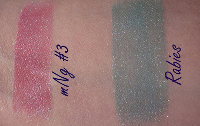 My Pretty Zombie Swatches