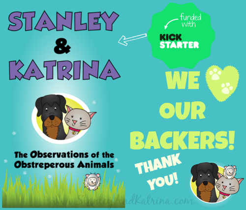 Stanley and Katrina Thank You to Kickstarter Backers