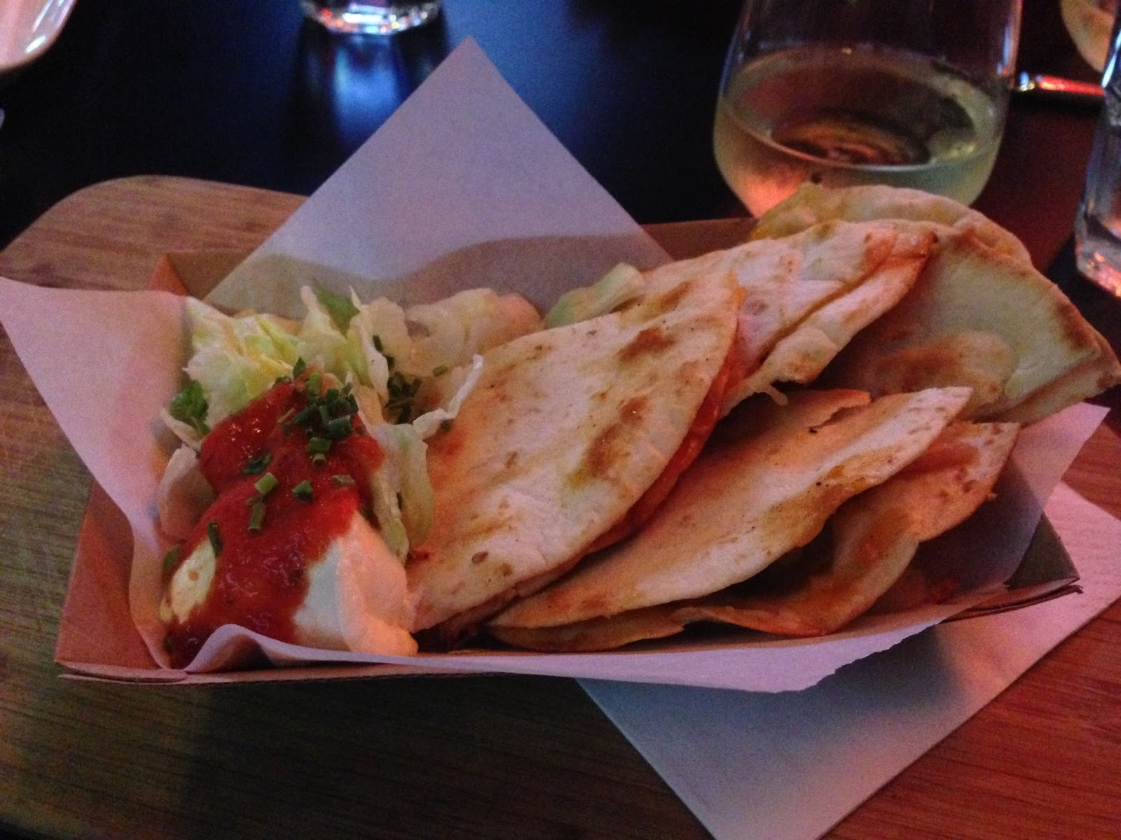 curious squire, adelaide, food, north adelaide, pork, quesadilla, dinner, lunch