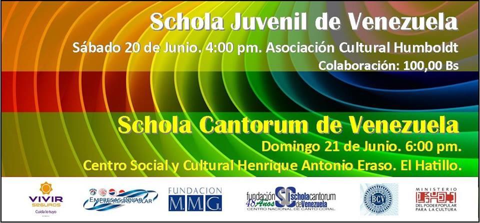 La fundaci n schola cantorum ofrece sendos conciertos este for Eventos en barcelona este fin de semana