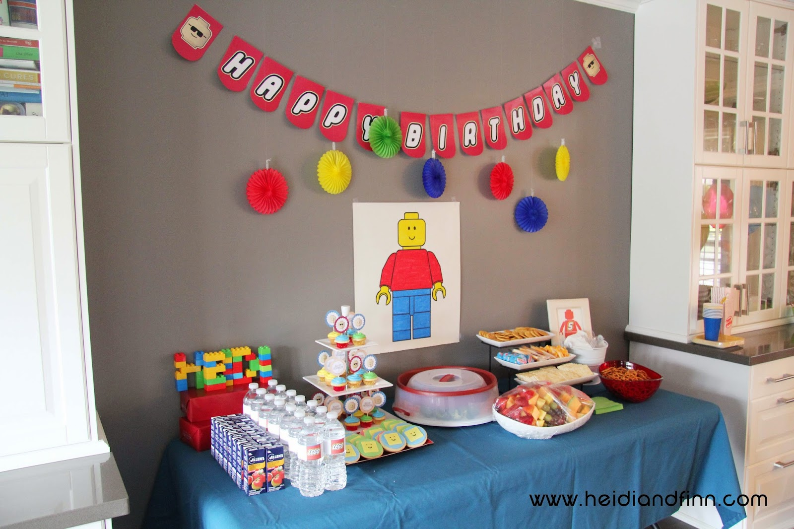HeidiandFinn modern wears for kids Lego Party birthday ideas