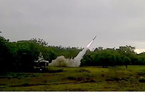 Kemhan Berhasil Uji Coba Roket Pertahanan
