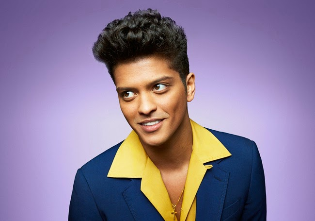 American Singer Bruno Mars New Photos