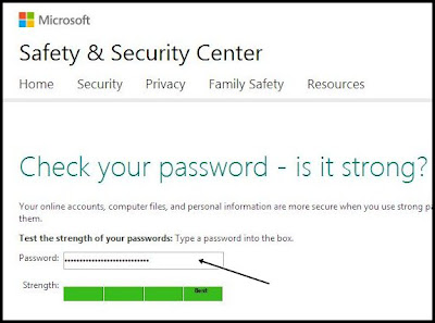 situs cek kekuatan password