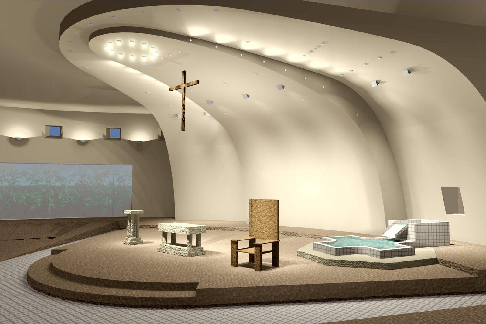 Small Church Interior Design Ideas