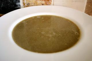 Mushroom & Wild Garlic Soup