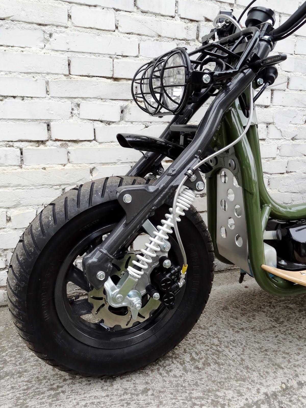 moto art. honda cn 250 wave military green edition br051 moto art