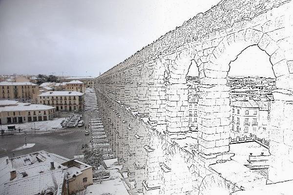 Usa GIMP De foto a dibujo