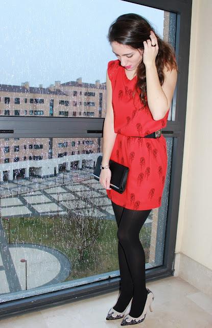 red dress looks