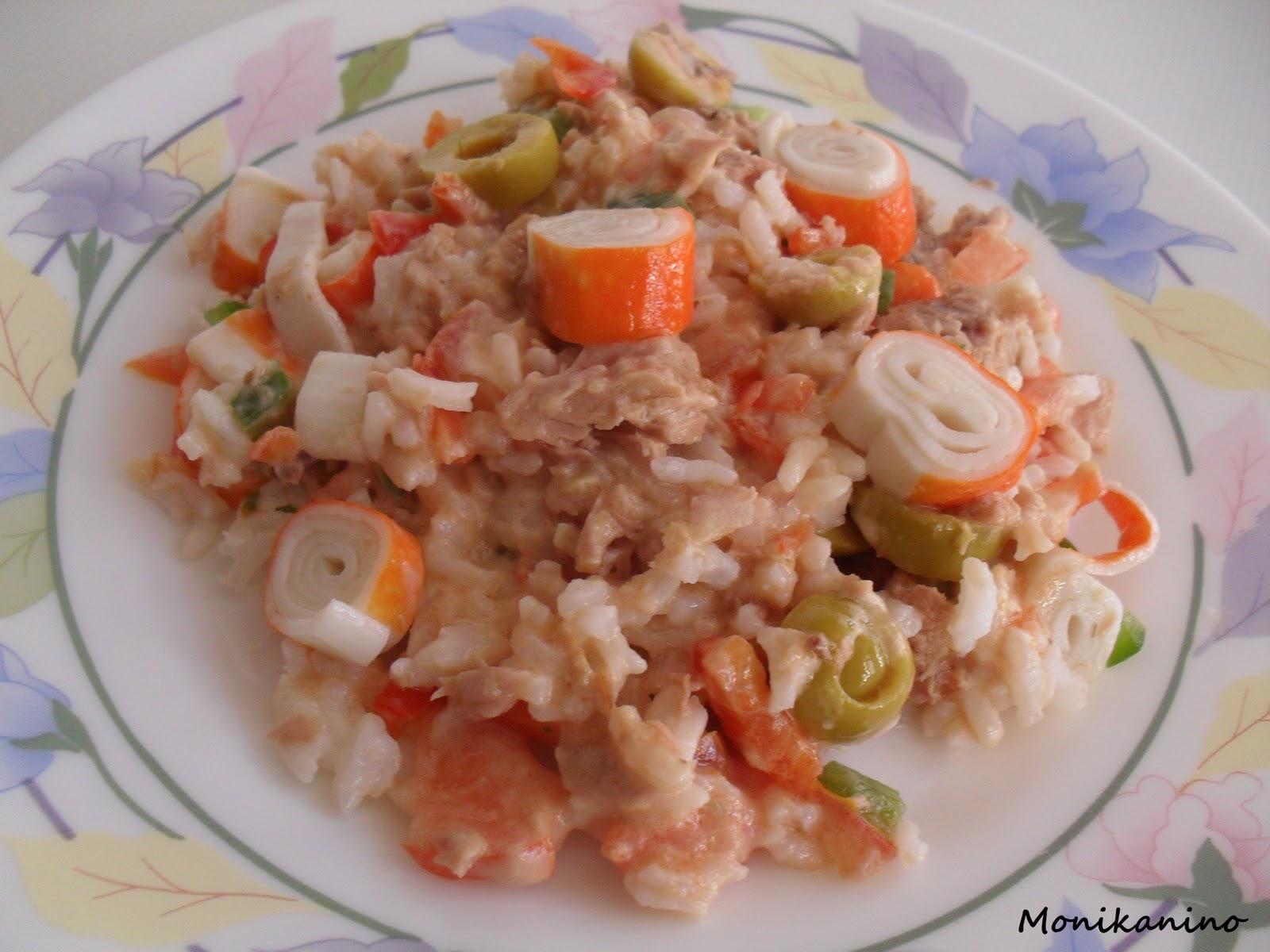Monikaninococimo ensalada de arroz - Ensalada de arroz y atun ...
