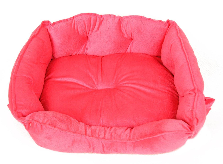 Tappeto Morbido Per Cani : Cuscino rosso cuccio cane tappetino cucce per cani