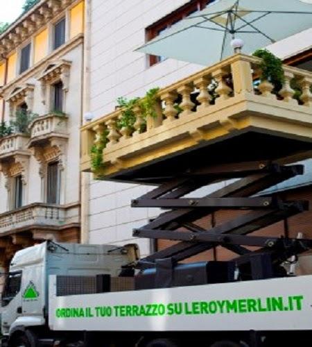 Mediavertigo for Ombrelloni leroy merlin