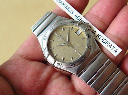 OMEGA CONSTELLATION BROWN GREY DIAL