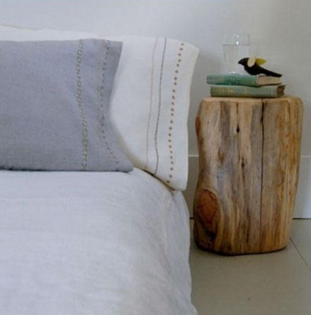 Muebles de madera reciclada ideas para for Como tratar un tronco de madera para decoracion