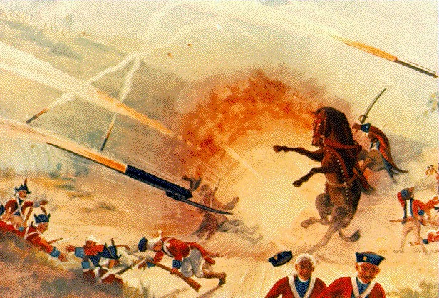 Tipu Sultan's Army Against British Forces using rockets