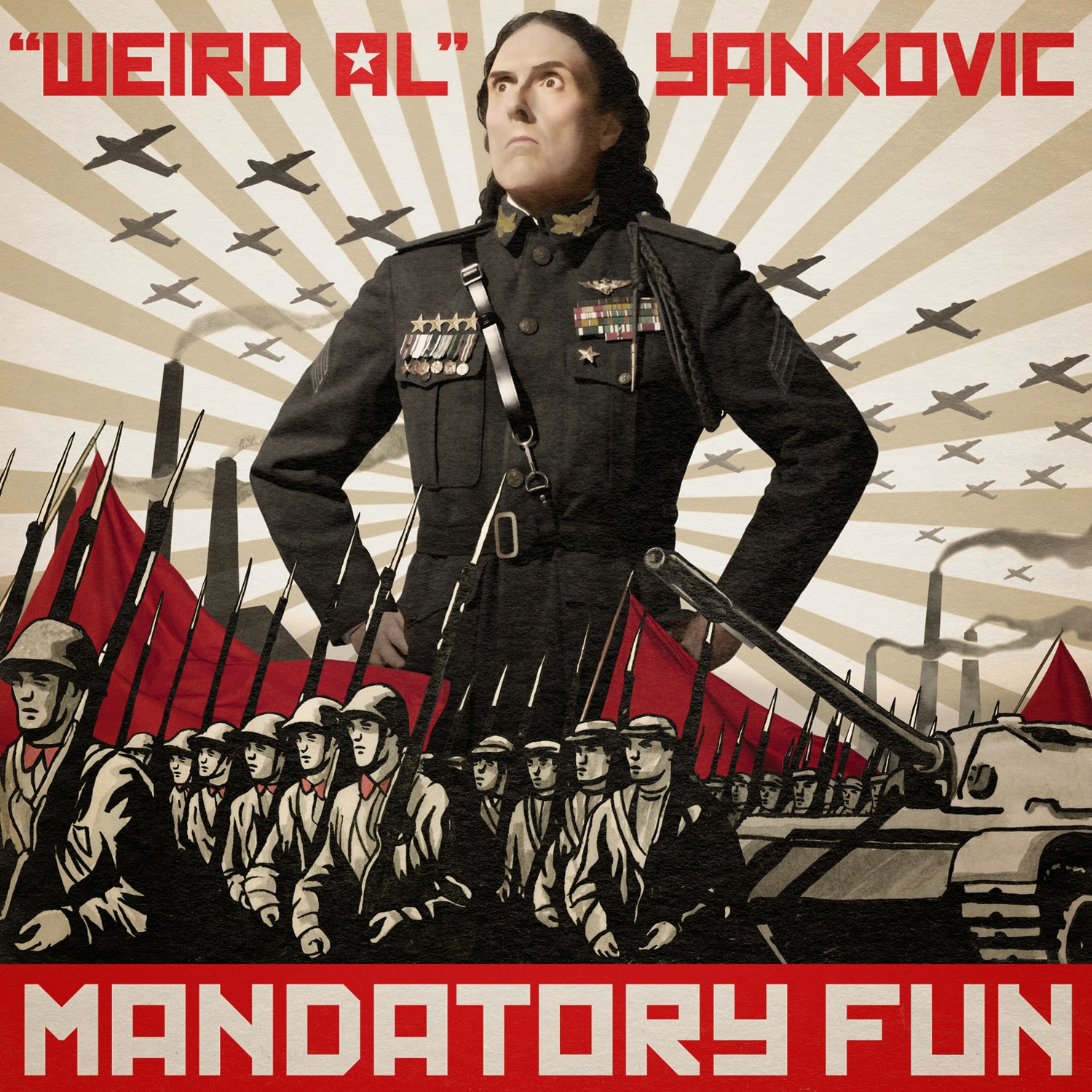 Weird Al Yankovic Mandatory Fun