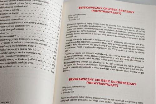 Początek rozdziału z przepisami na różne rodzaje pieczywa