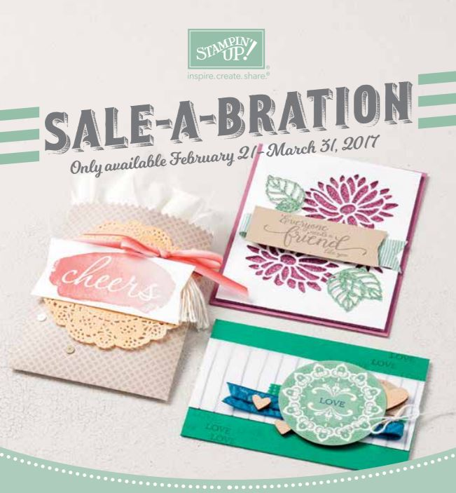 NEW Sale-a-Bration items added!