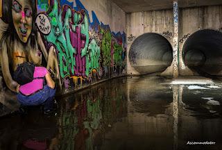 Drain Graffiti