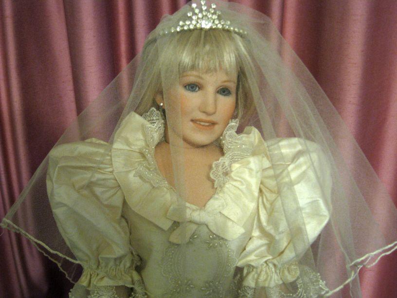 Vicki\'s Fabric Creations: Princess Diana Doll