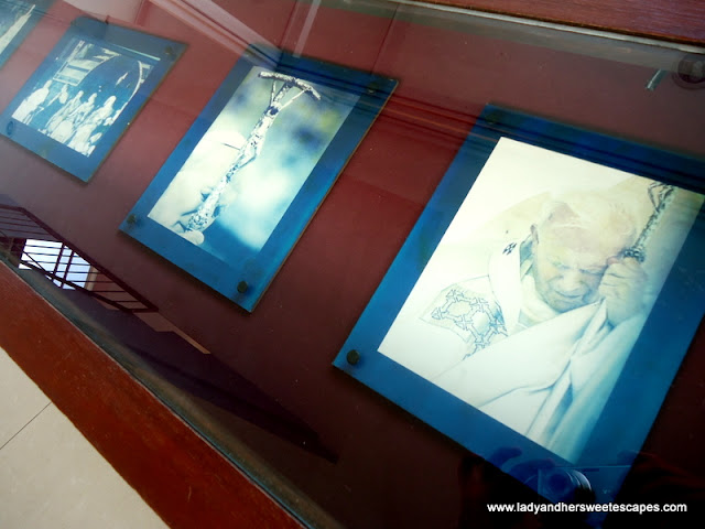 paintings at Pope John Paul II Tower