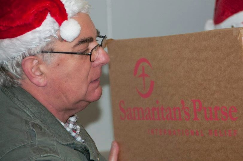 Samaritans Purse operation Christmas Child 2013 - Cornwall