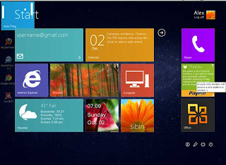 Windows 8 theme for Windows XP/Vista/7
