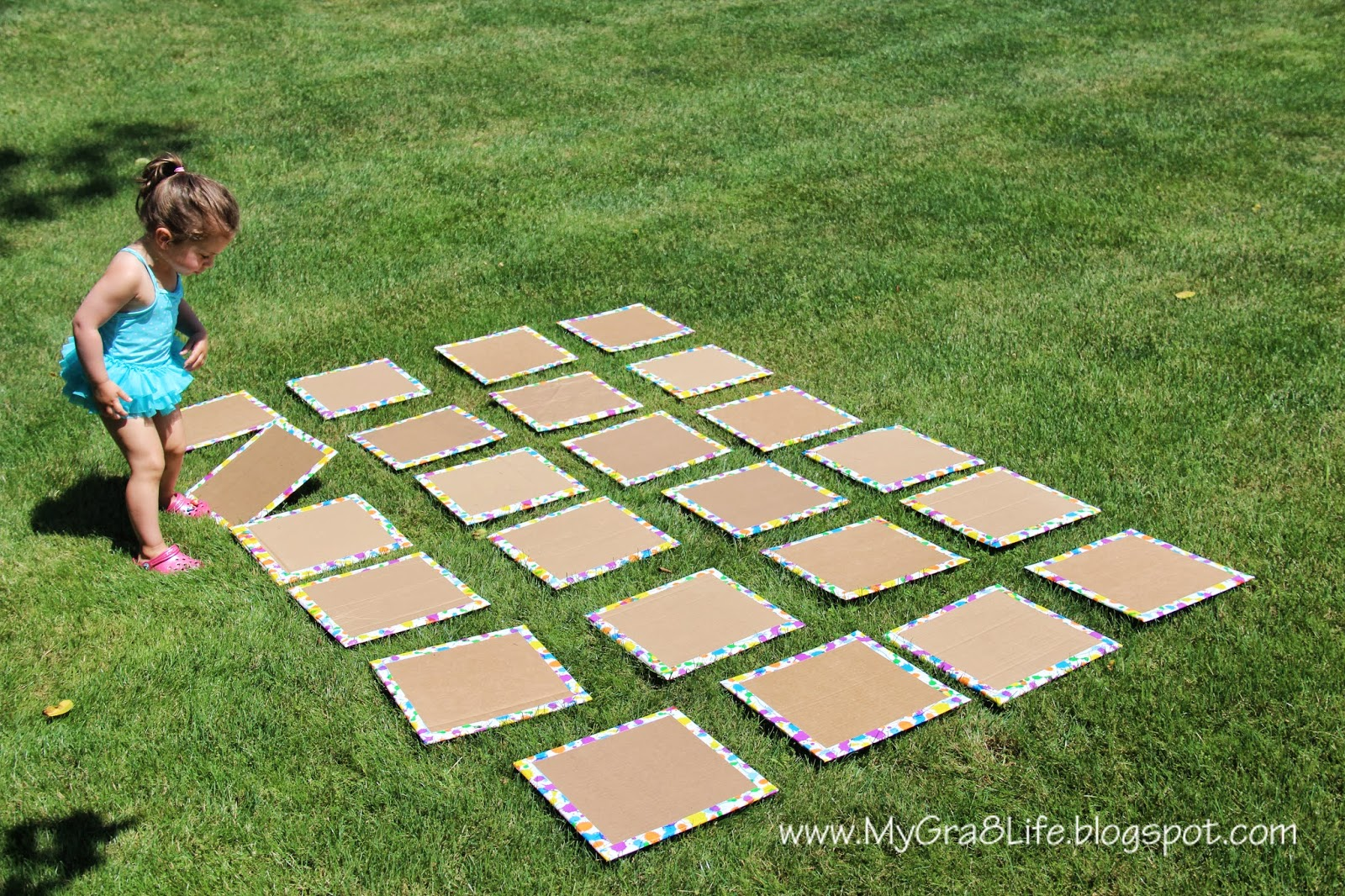 My Gra 8 Life Backyard Quot Giant Quot Matching Game