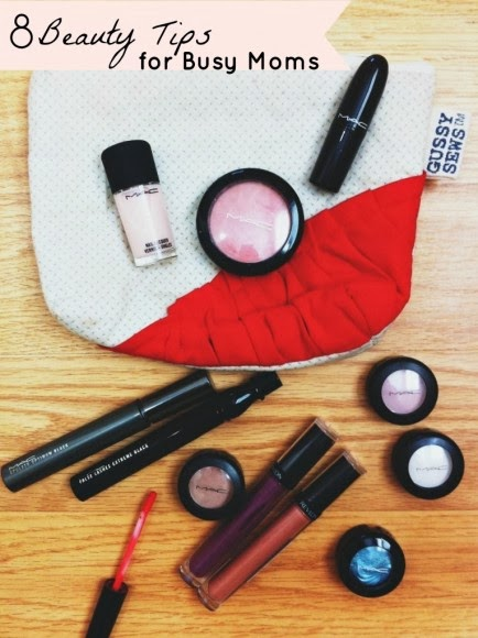8 Beauty Tips for Busy Moms