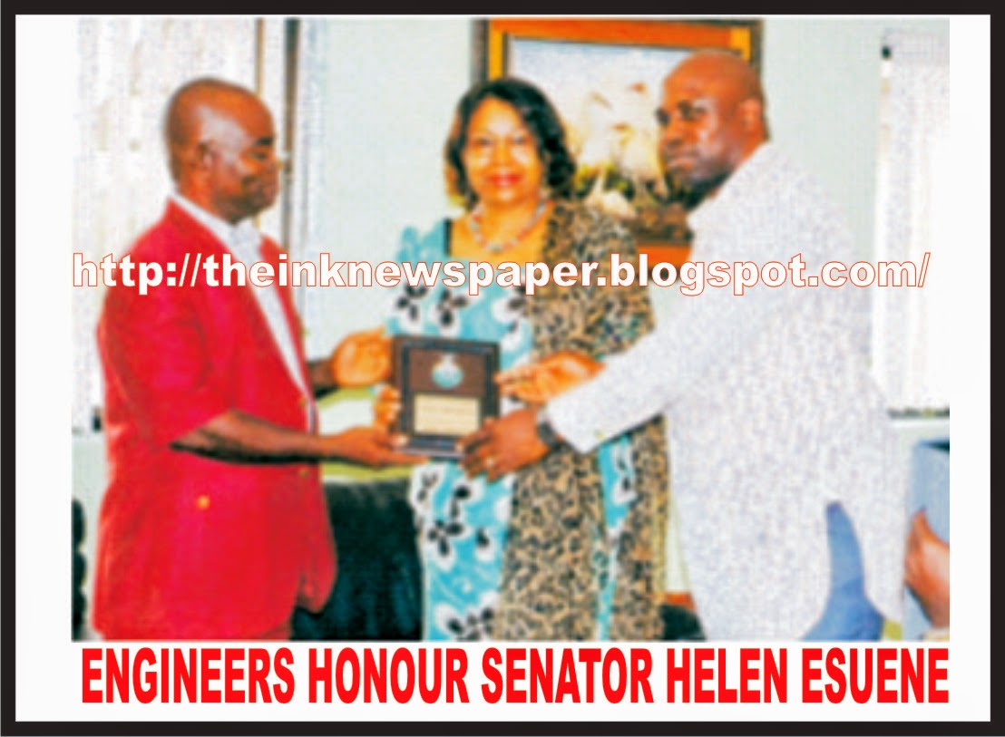 Engineers honour Senator Helen Esuene