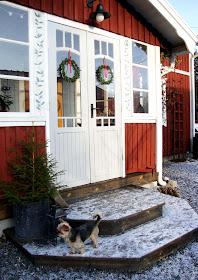 Pardörrar inför vintern