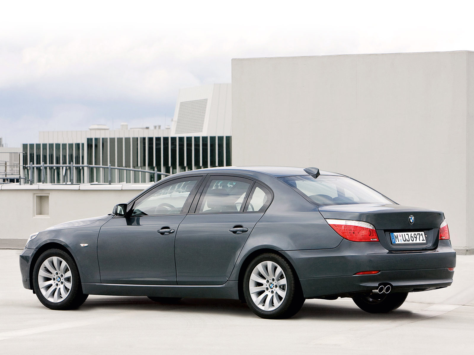 2008 BMW 5-Series Security car pictures