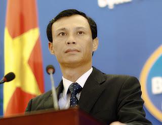 Người phát ngôn Bộ Ngoại giao Việt Nam Lương Thanh Nghị. Ảnh: Chinhphu.vn