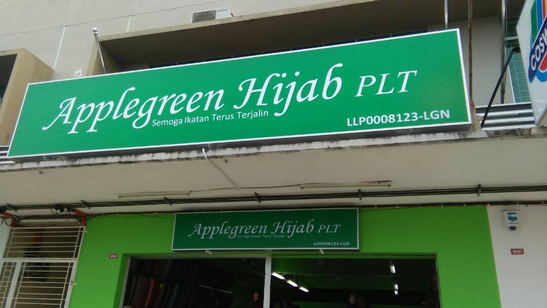 APPLEGREEN HIJAB TAWAU