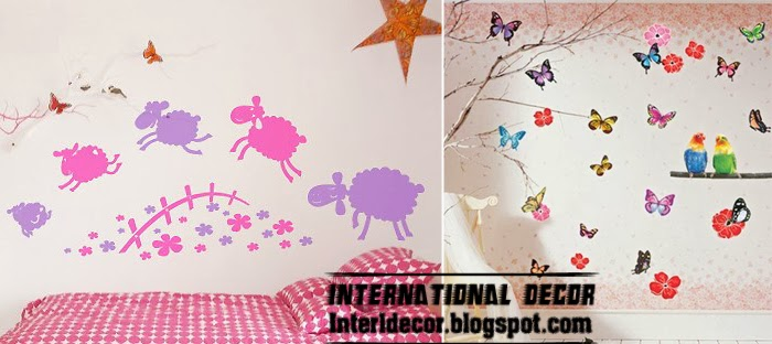 Wall decorating ideas for Children\'s room - Home Decoration Ideas